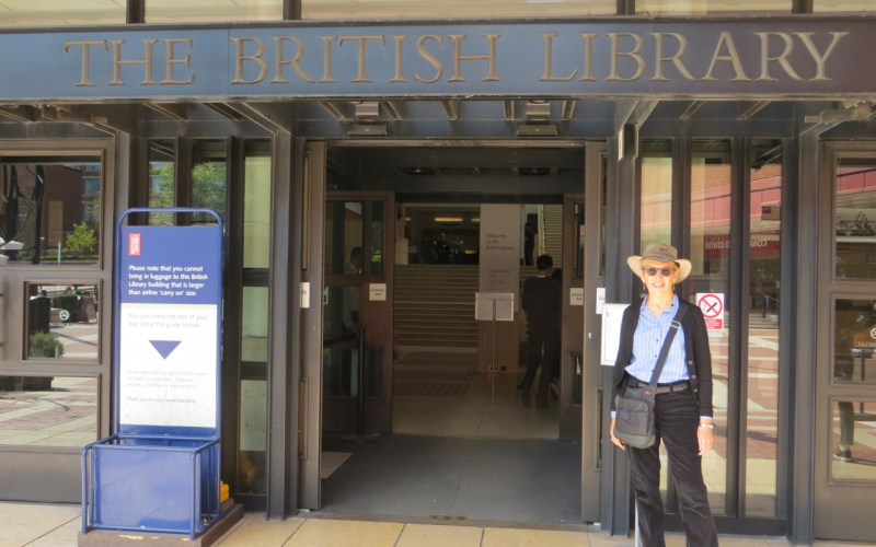 The British Library, 2014