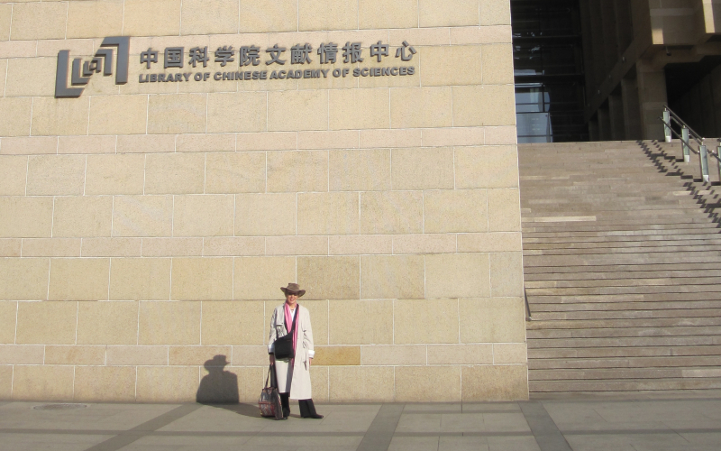 Chinese Academy of Sciences Library, Beijing, 2011